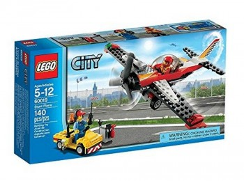 LEGO CITY AVION ACROBATICO 60019