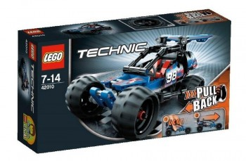 LEGO TECHNIC  COCHE CARRERAS 42010