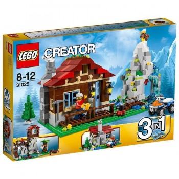 LEGO CREATOR LA CABAÑA DE MONTAÑA 31025