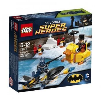 LEGO SUPER HEROES BATMAN CARA A CARA CON PINGÜINO 76010