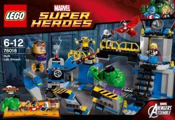 LEGO SUPER HEROES ATAQUE AL LABORATORIO DE HULK 76018