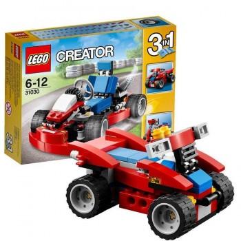 LEGO CREATOR KART ROJO 31030