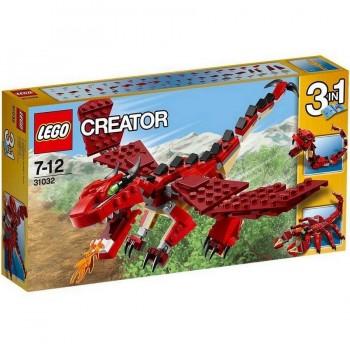 LEGO CREATOR CRIATURAS ROJAS 31032