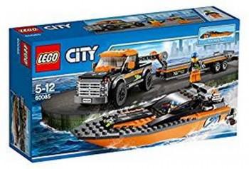 LEGO CITY 4X4 C/ LANCHA 60085