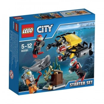 LEGO CITY EXPLORACION SUBMARINA 60091