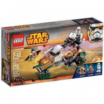 LEGO STAR WARS EZRA SPEEDER BIKE 75090