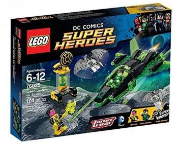 LEGO SUPER HEROES LINTERNA VERDE VS SINIESTRO 76025