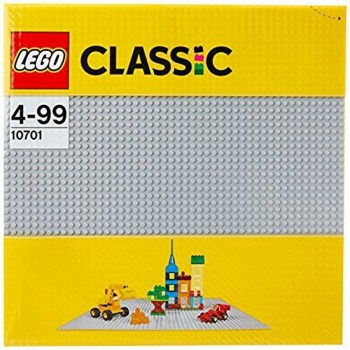 LEGO BASE GRIS 10701