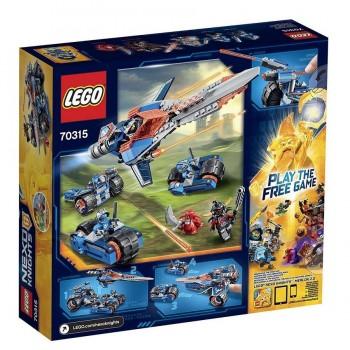 LEGO NEXD KNIGHTS ESPADA TRONADA 70315