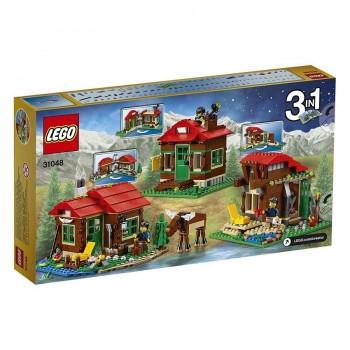 LEGO CREATOR CABAÑA JUNTO AL LAGO 31048