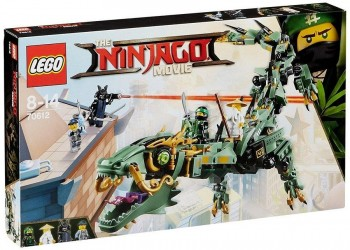 LEGO NINJAGO MOVIE DRAGON MECANICO VERDE 70612