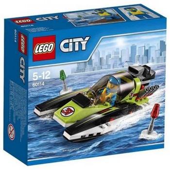 LEGO CITY LANCHA RAPIDA 60114