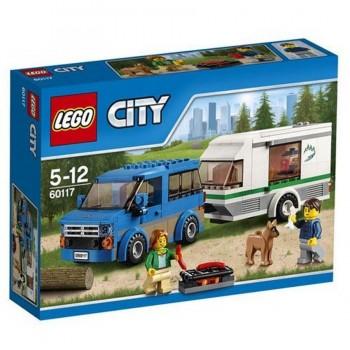 LEGO CITY FURGONETA Y CARAVANA 60117