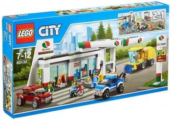 LEGO CITY ESTACION DE SERVICIO 60132