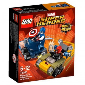 LEGO SUPER HEROES MIGHTY MICROS CAPITAN AMERICA 76065