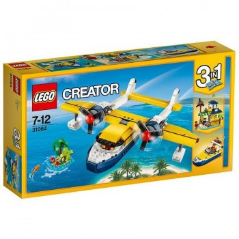 LEGO CREATOR AVENTURAS EN LA ISLA 31064