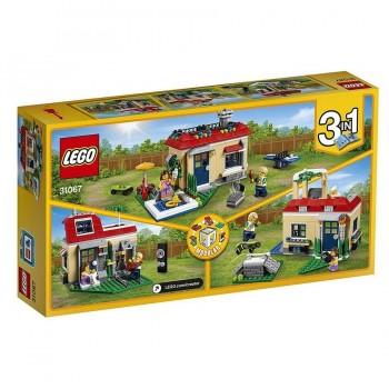 LEGO CREATOR CASA MODULAR CON PISCINA 31067