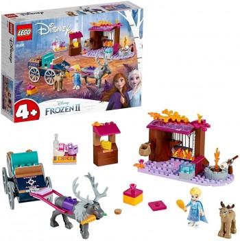 LEGO DISNEY FROZEN AVENTURA CARRETA DE ELSA 41166