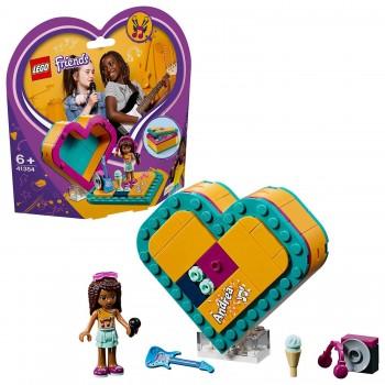 LEGO FRIENDS CAJA CORAZON ANDREA 41354