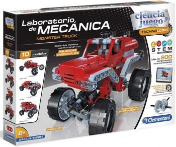 LABORATORIO DE MECANICA MONSTER TRUCK CLEMENTONI 55277