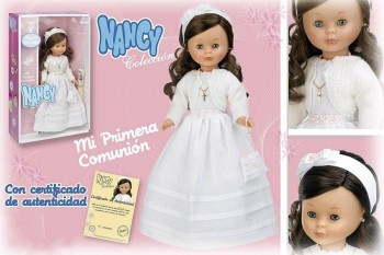 NANCY COLECCION COMUNION MORENA