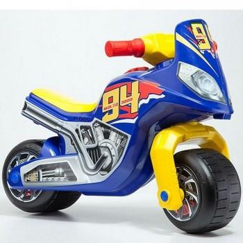 MOTO CROSS RACE CHICO AZUL MOLTO