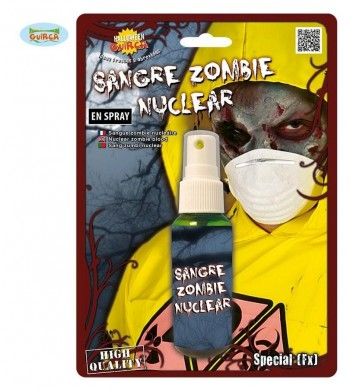 SPRAY SANGRE ZOMBIE NUCLEAR GUIRCA 15597