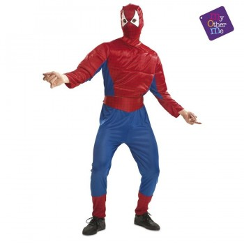 DISFRAZ SPIDERMAN MUSCULOSO AD MOM