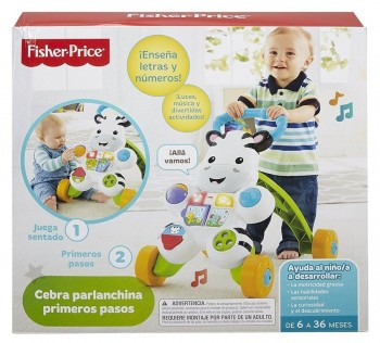 ANDADOR CEBRA FISHER PRICE