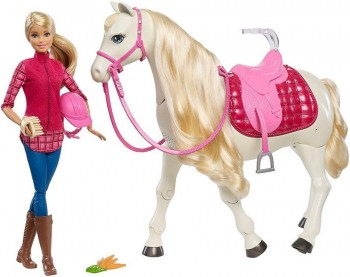 BARBIE Y SU CABALLO INTERACTIVO MATTEL